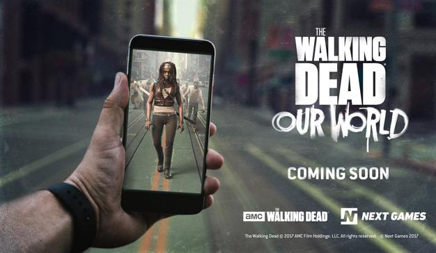The Walking Dead lanza su propia versión zombie de Pokémon Go