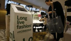 H&M avanza hacia el reciclaje textil