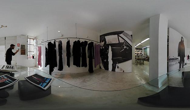 The 360 Samsung Experience, una visión única para la colección de Juan Vidal
