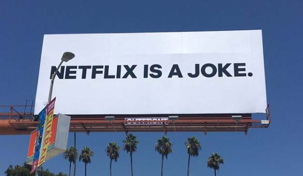 Netflix se toma