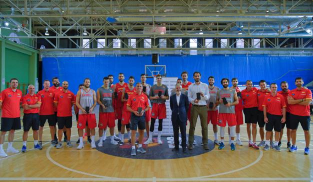 Samsung Galaxy Note8, smartphone oficial de la selección nacional de baloncesto