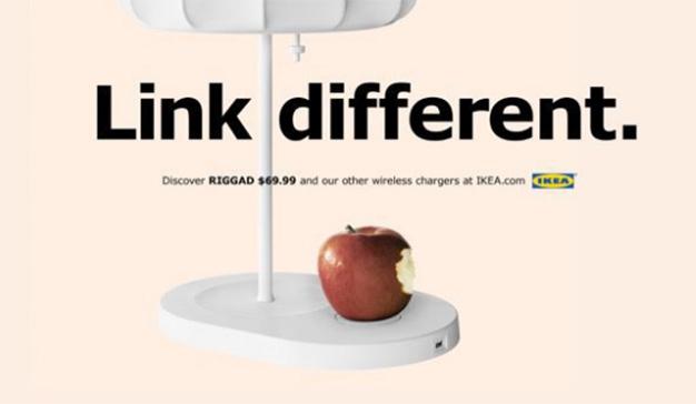 Los nuevos iPhone podrán cargarse con una lámpara de IKEA