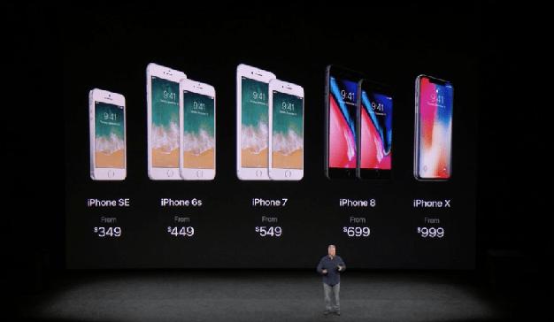 Si el iPhone X le parece caro espere a ver esta evolución de los precios del terminal de Apple