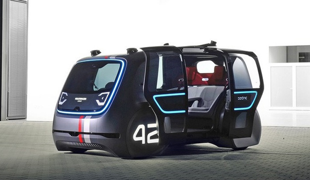 Volkswagen quiere implantar taxis autónomos para 2021