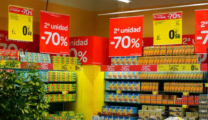 Las acciones promocionales en Gran Consumo son