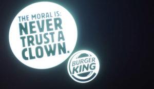 Burger King se mete con McDonald's en su último anuncio