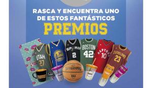 Nueva acción promocional de Dunkin' Coffee y la NBA