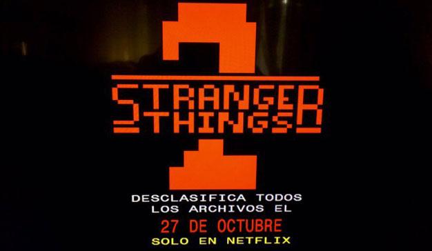 Netflix utiliza el teletexto para promocionar la segunda temporada de Stranger Things