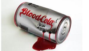 Bloodcola lanza la nueva superbebida,  la estrella (roja) de Halloween