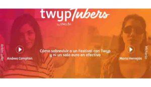 Twyp reta a cuatro youtubers a sobrevivir sin dinero en efectivo en los festivales