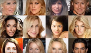 Nvidia consigue un sistema de IA que crea imágenes falsas de celebridades
