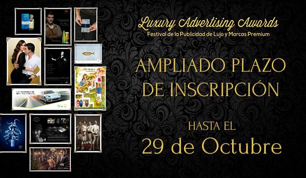 Ampliado plazo de inscripción para Luxury Awards hasta el29 de Octubre
