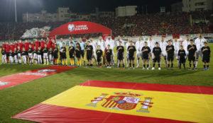 La audiencia se decanta por el partido de la selección española