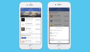 Facebook quiere saciar su hambre con una nueva función para pedir comida a domicilio