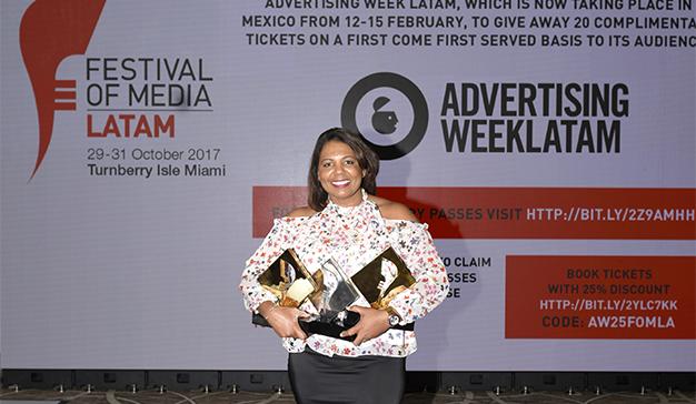 OMD Dominicana y Pagés BBDO ganan 2 Oros y 1 Plata en el Festival of Media Latam