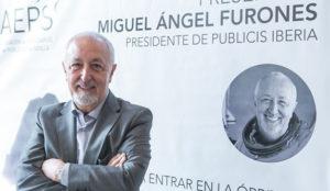 Miguel Ángel Furones, Presidente de Publicis Communications, presenta su tercera novela