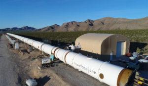 El futurista sistema de transporte Hyperloop coge carrerilla gracias a Richard Branson