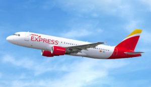 Iberia Express renueva la música de sus aviones con canciones para todos los gustos