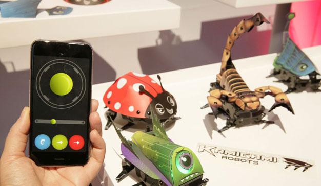 Mattel y Kamigami lanzan insectos robots para niños
