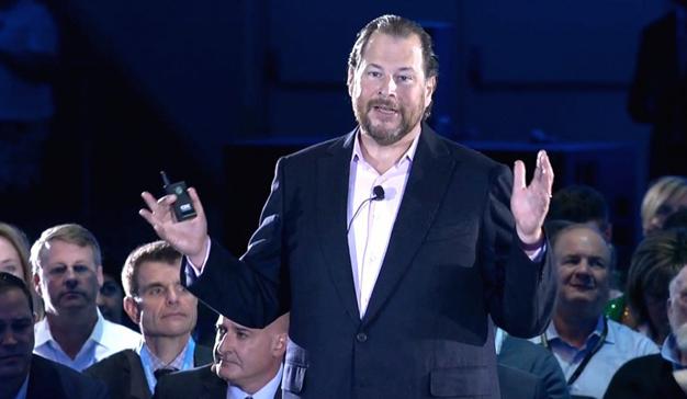 """Marc Benioff (Salesforce): """"la compañía no existiría sin Steve Jobs"""""""