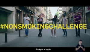 Tactics Europe crea para el Ministerio de Sanidad el #NonSmokingChallenge