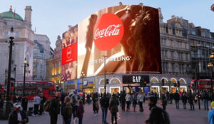 Las increíbles capacidades publicitarias de la nueva megapantalla de Piccadilly Circus