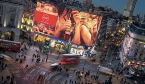 Ebay se anunciará por todo lo alto en la nueva pantalla de Piccadilly Circus