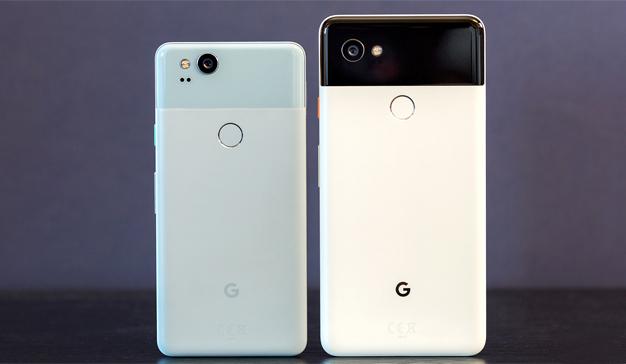 Los nuevos teléfonos Pixel 2 y Pixel 2 XL, dos auténticos cerebritos