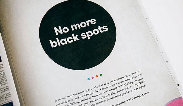 Esta campaña cambia de color todos los puntos del Daily Mail Magazine