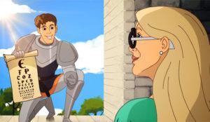 Rapunzel busca desesperadamente gafas (y no príncipes) en este ocurrente spot de Specsavers