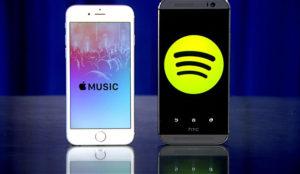 Apple Music tendrá que seguir esforzándose para alcanzar a Spotify