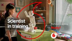 Vodafone pasa por el quirófano y sale con nuevo logo y renovado y