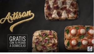 """Grey lanza las nuevas masas  """"Artisan"""" de Domino´s Pizza"""