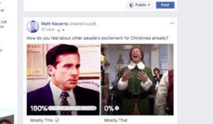 Facebook se prepara para lanzar encuestas con GIFs para todos los usuarios