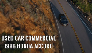 Este spot muestra una forma original de vender un Honda Accord de segunda mano