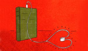 Los audiolibros y los podcasts se tiran a la yugular de los todopoderosos ebooks
