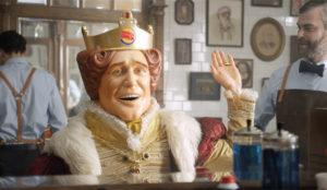 El rey de Burger King pone sus barbas a remojar con la llegada de Movember
