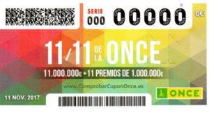 TBWA\España firma la campaña del 11\11 de la ONCE