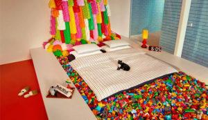 Pasar una noche en una casa hecha con piezas de Lego ya es posible