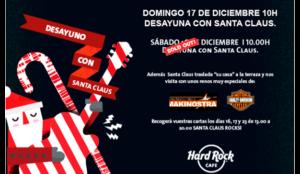 Hard Rock Cafe Madrid trae a Santa Claus para un divertido desayuno en familia