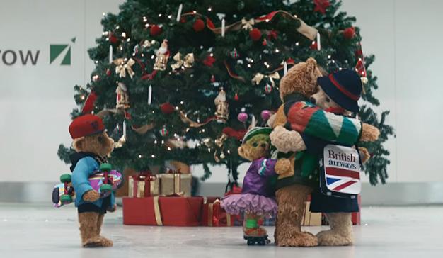 Los ositos de peluche de Heathrow regresan al ruedo publicitario en este nostálgico spot