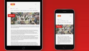 Pascual crea una nueva página web para dar contenido novedoso a todas las marcas