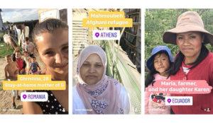 Esta campaña usa las Stories de Instagram para contar las historias de 7 mujeres
