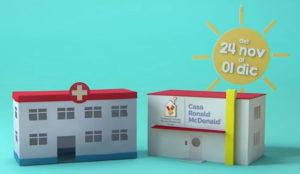 McDonald's y ElTenedor ayudarán a familias con niños hospitalizados con McHappy Day