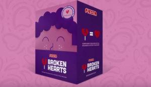 """Fiesta con su Piruleta ayudará a corazones reales con """"Broken Hearts"""""""