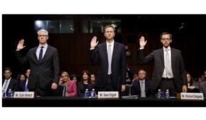 El Senado de Estados Unidos presiona a los gigantes de internet en materia de seguridad