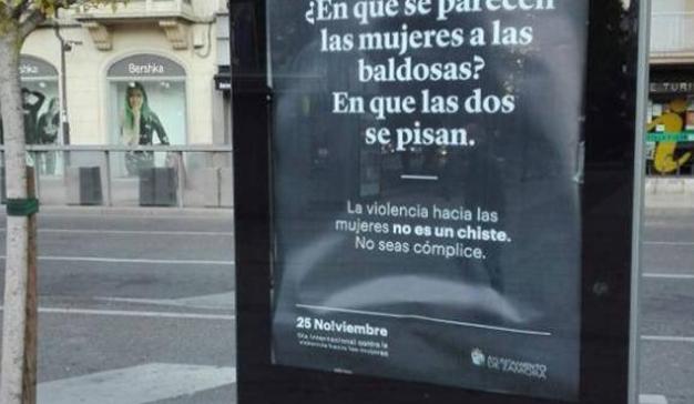 Polémica en el Ayuntamiento de Zamora por estos carteles contra la violencia de género