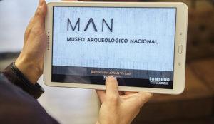 Visitar virtualmente el Museo Arqueológico Nacional es posible gracias a Samsung