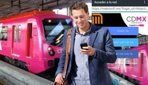 AT&T consiente a los mexicanos instalando internet gratuito en el metro