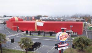 Burger King Francia ofrece a su mayor fan su propio restaurante